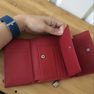 Red Sonoma Small Wallet